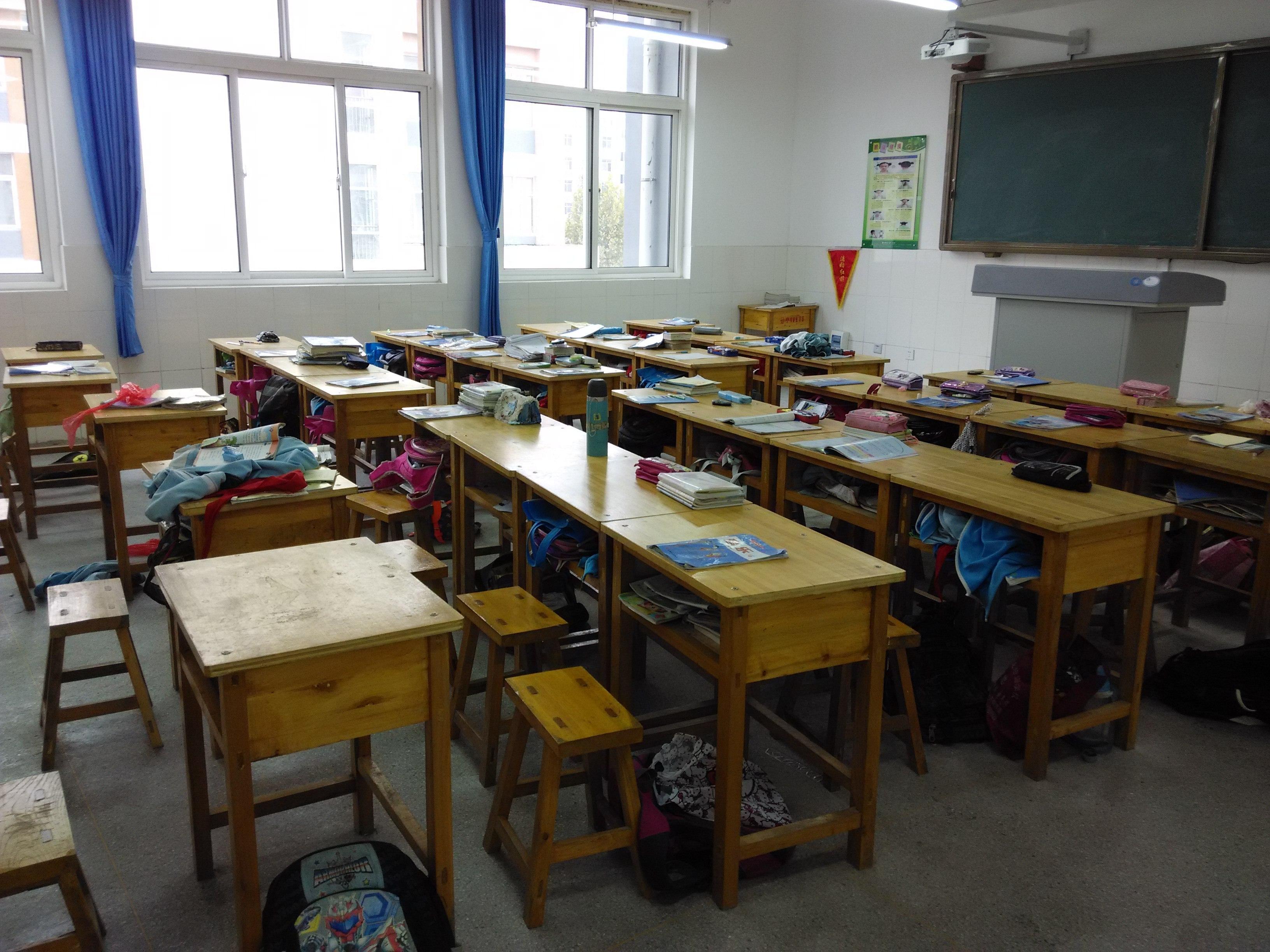 教室里图手绘图纸